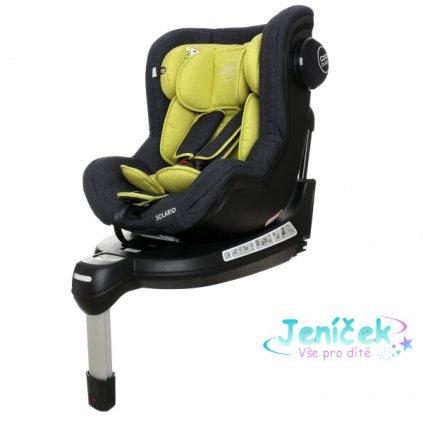 Coto Baby Autosedačka Solario s 360 ° otáčením, ISOFIX systémem, protisměr, 0-18 kg, olive