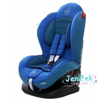 Autosedačka Coto Baby Swing 9-25kg, 2020 - modrá, melír
