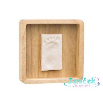 BABY ART Rámeček na otisky Magic Box - square Wooden