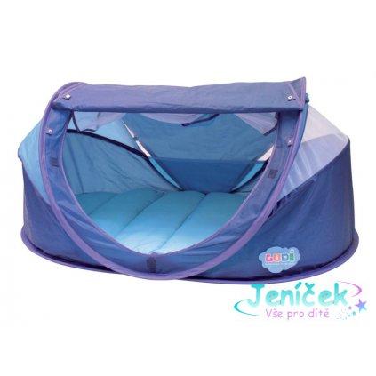 Stan pro miminko anti-UV Nomad modrý V