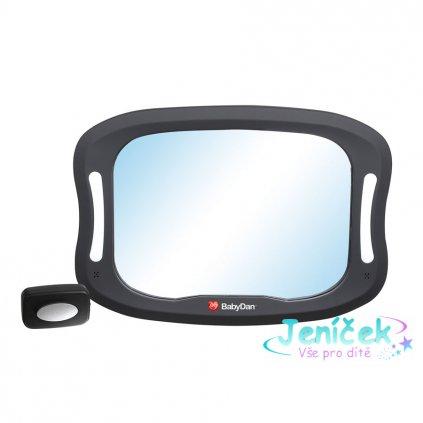 Baby Dan Nastavitelné zpětné zrcadlo do auta s LED osvětlením