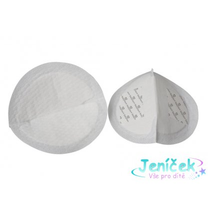 Baby Dan BabyDan prsní tampóny ultra absorpční 24ks, bílé