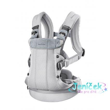 Babybjorn nosítko HARMONY Silver 3D mesh