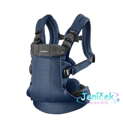 Babybjorn nosítko HARMONY Navy blue 3D mesh