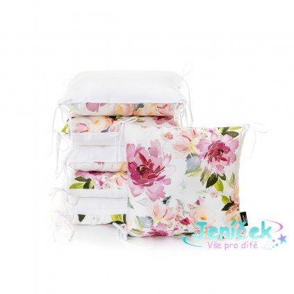 ESECO Polštářkový mantinel Watercolor flowers