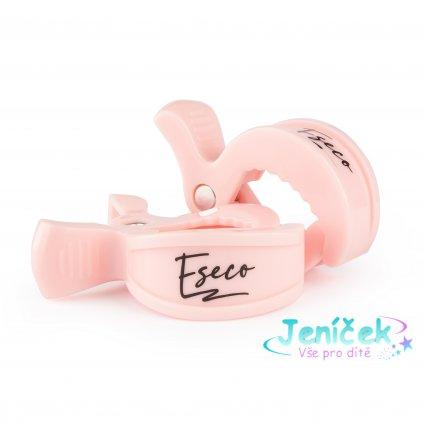 ESECO Klip pastel pink