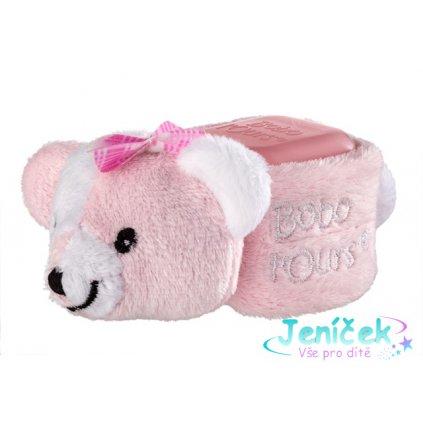 ALPHANOVA SANTE S.A.R.L. Bobo chladící medvídek Pink