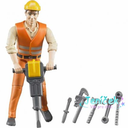 Buder BWORLD Figurka stavební dělník