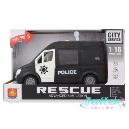 Auto policie baterie V