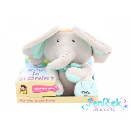 Sloník - hra na schovávanou 25cm