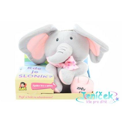 Sloník - hra na schovávanou na baterie