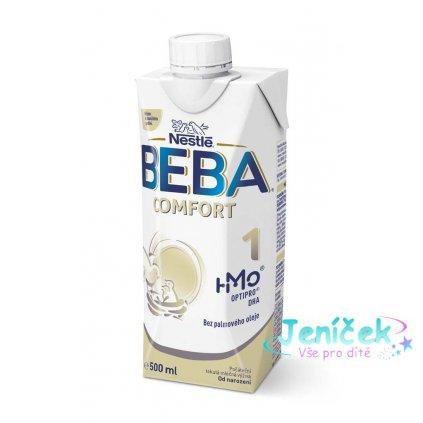 BEBA COMFORT 1 HM-O, Tekutá počáteční mléčná výživa 0+, tetra pack, 500 ml
