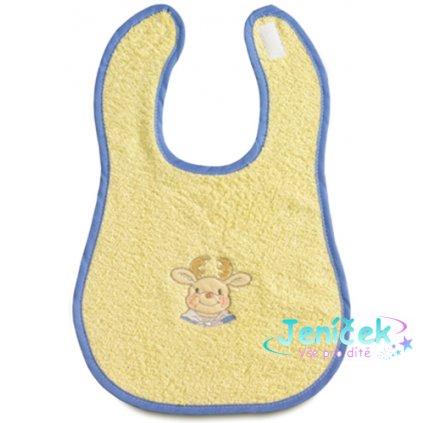 Bebe-Jou Froté bryndák Bébé-Jou žlutý