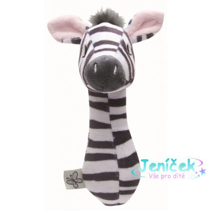 Bebe-Jou Plyšové štěrchátko Bébé-Jou Dinky Zebra Rozbaleno z výstavy
