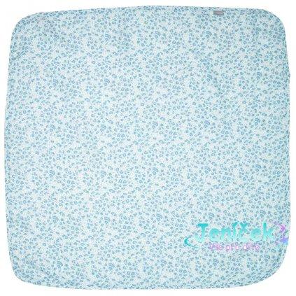 Bebe-Jou Mušelínová plenka 110x110 cm Leopard Blue