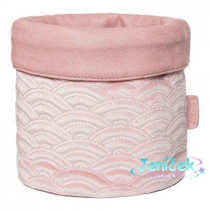 Bebe-Jou Textilní košík na kojenecké potřeby Bébé-Jou Fabulous Mellow Rose