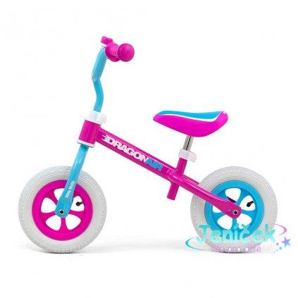 Dětské odrážedlo kolo Milly Mally Dragon Air candy