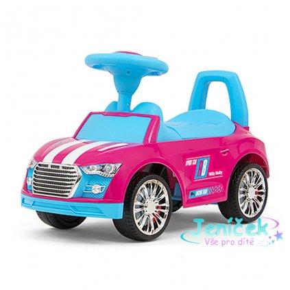 Dětské odrážedlo Milly Mally Racer pink-blue