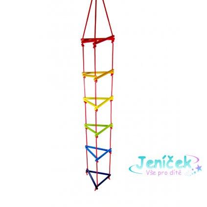 Hess Trojúhelníkový lanový žebřík