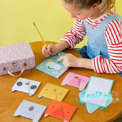 Petitcollage Kreativní kufřík s přáníčky