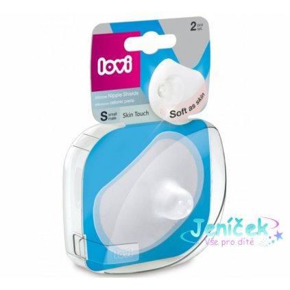 Lovi Chrániče prsních bradavek vel. S - 2ks Soft as skin