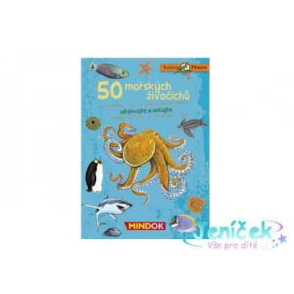 50 mořských živočichů