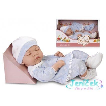Tulimi Luxusní panenka/miminko Baby so Lovely - modrá