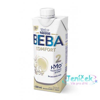 BEBA COMFORT 2 HM-O, Tekutá pokračovací mléčná výživa 6+, tetra pack, 500 ml