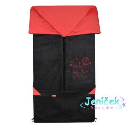 Emitex Fusak 2v1 FANDA černý + červená