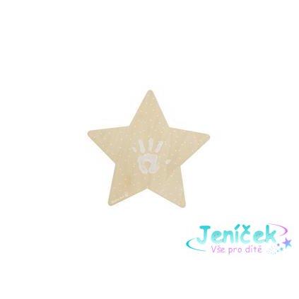 BABY ART Světýlko hvězdička Wall Light with imprint