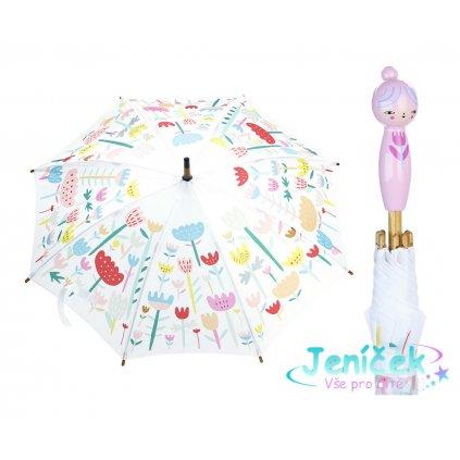 Vilac Deštník květinový Suzy Ultman růžový