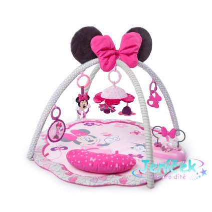 DISNEY BABY Deka na hraní Minnie Mouse Garden Fun 0 m+ 2019
