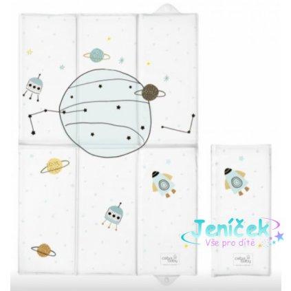 Ceba Baby Cestovní přebalovací podložka Candy Andy Vesmír, 60 x 40 cm