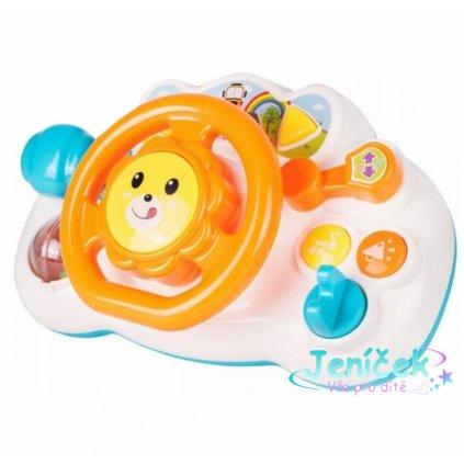 Tulimi Interaktivní hračka - Volant, Lev - oranžový