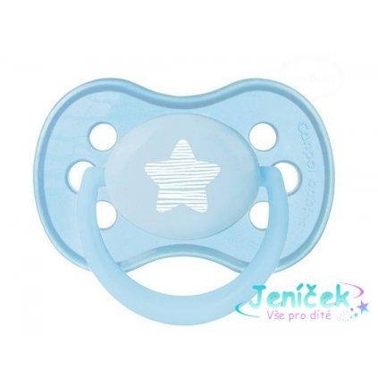 Dudlík Canpol Babies - Pastel 0-6m - modrý