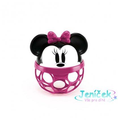 OBALL Hračka Oball Rattle Disney Baby Minnie, 0m +