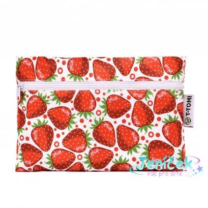Nepromokavý pytlík, strawberries