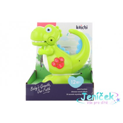 Baby dinosaurus na baterie