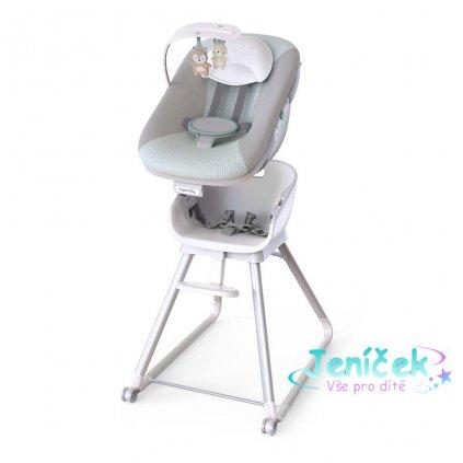 INGENUITY Židle jídelní 6v1 Beanstalk ™ Ray ™ 0m +, do 23kg