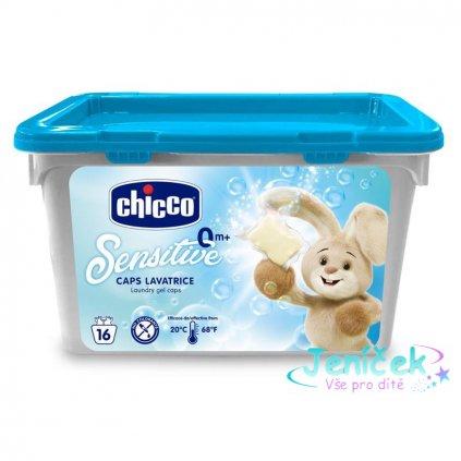 CHICCO Kapsle prací gelové Sensitive 16 ks V