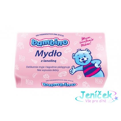 NIVEA Dětské mýdlo BAMBINO s lanolínem 90g - 1ks V