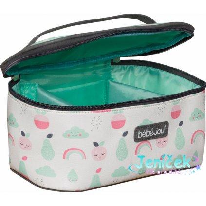 Bebe-Jou Beautycase kosmetická taška s odepínacím víkem Bébé-Jou Blush Baby V