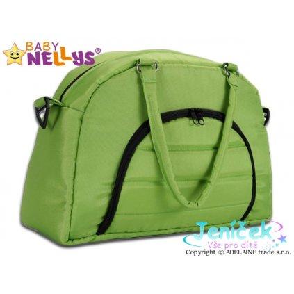 Taška na kočárek Baby Nellys ® ADELA LUX - zelená V