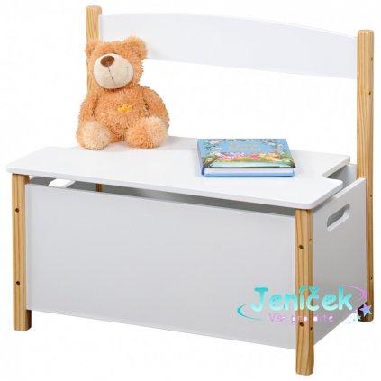 UBKE0424 detska lavice s uloznym prostorem scandi A 800x800