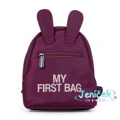 Dětský batoh My First Bag Aubergine