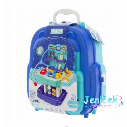 Euro Baby Dětský kufříkový batoh - Doktor, 2v1
