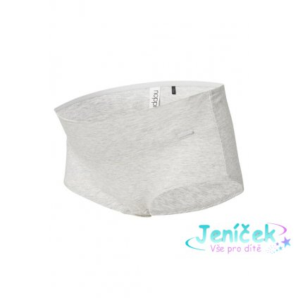 NOPPIES Kalhotky Cotton L Melange Grey