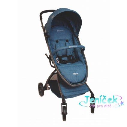 Coto Baby Kočárek Verona 2020 Comfort Line - Turquoise Linen V