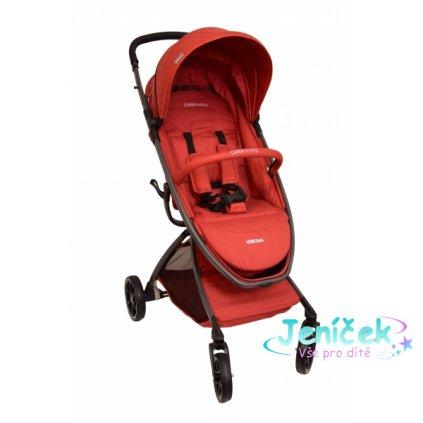 Coto Baby Kočárek Verona 2020 Comfort Line - Red Linen VYP