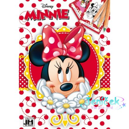 Omalovánka A5 Minnie V